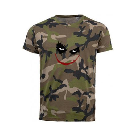 Pánské maskáčové tričko Joker