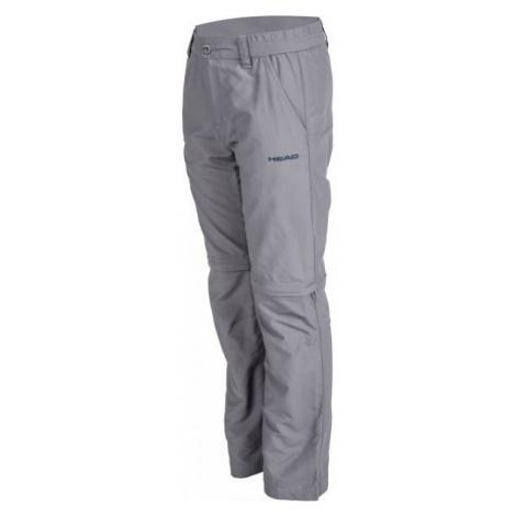 Head FIDEL šedá - Dětské odepínatelné kalhoty