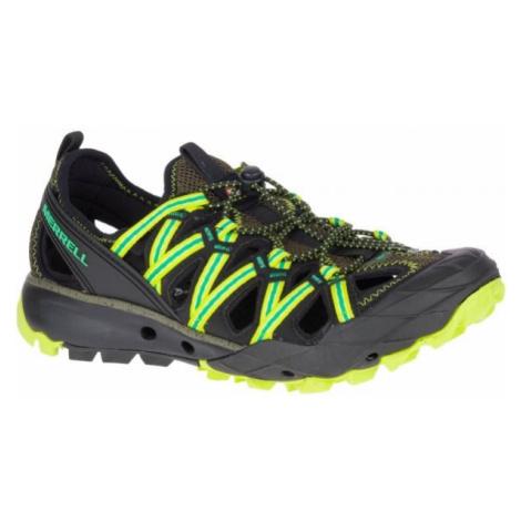 Merrell CHOPROCK SHANDAL zelená - Pánské outdoorové boty