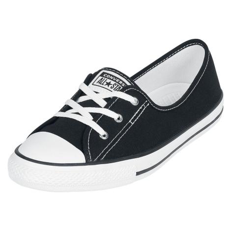 Converse Chuck Taylor All Star Ballet Lace Slip tenisky černá