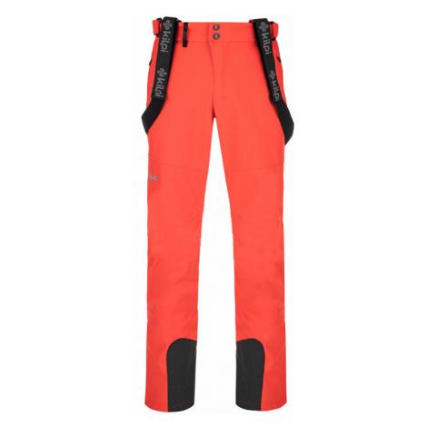 Pánské lyžařské kalhoty Rhea-m červená Kilpi
