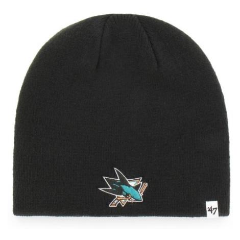 47 BKB NHL SAN JOSE SHARKS BEANIE černá - Zimní čepice