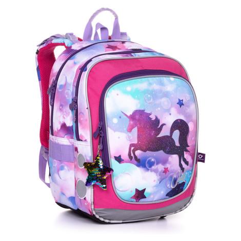 Školní batoh s jednorožcem Topgal ENDY 20002 G