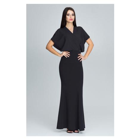 Černé šaty M577 Figl
