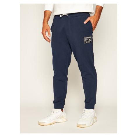 Tommy Jeans pánské tmavě modré tepláky Tommy Hilfiger