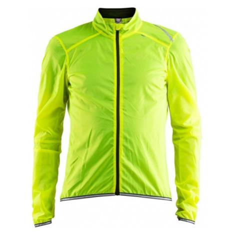 Craft LITHE JACKET žlutá - Pánská lehká cyklistická bunda