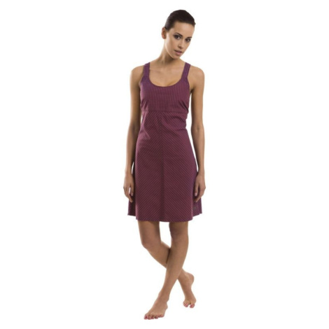 Dámské šaty Alpine Pro LUSON - fialová