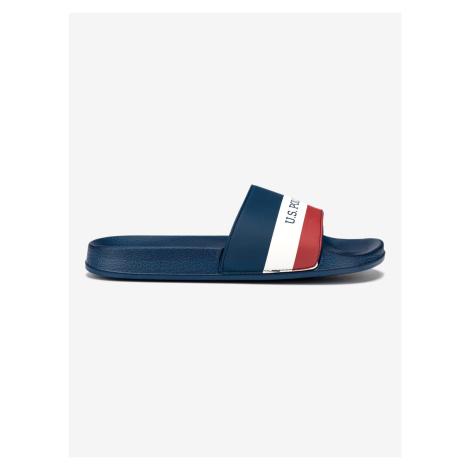 Aquarius Pantofle U.S. Polo Assn Modrá