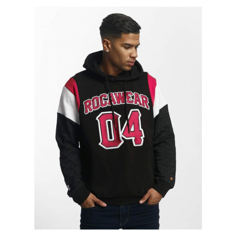 Mikina Rocawear / Hoodie Number Four in black