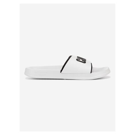 Pantofle Calvin Klein Bílá