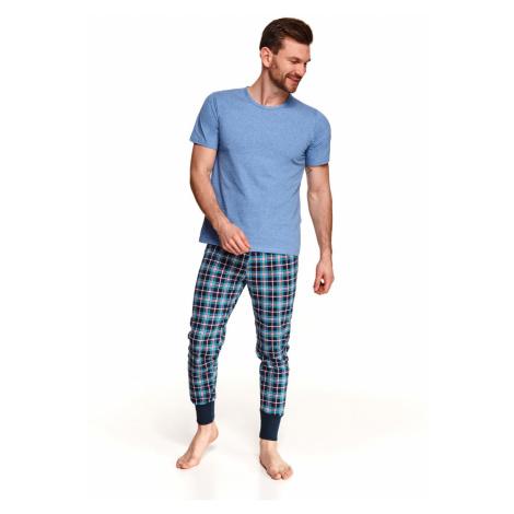 Pánské pyžamo 2519 GRZEGORZ Jaro 2021 modrá Taro