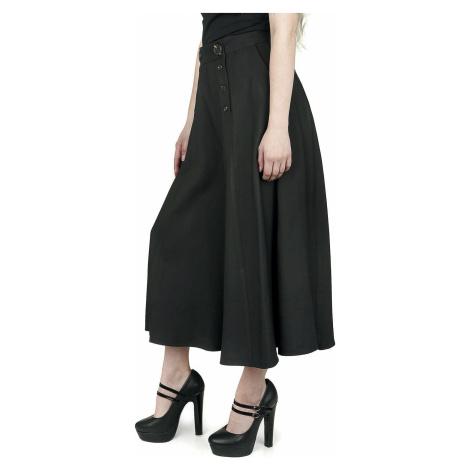 Hell Bunny Culotte kalhoty Murphy Dívčí kalhoty černá