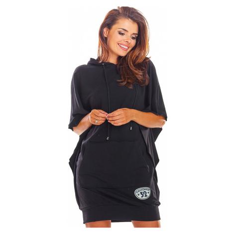 Černé šaty M215 Infinite You