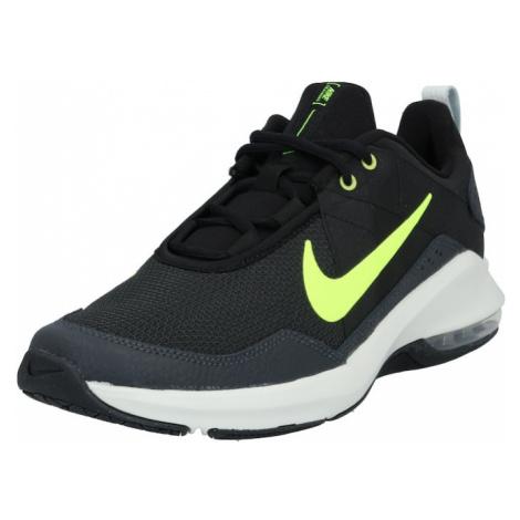 NIKE Sportovní boty 'Air Max Alpha Trainer 2' černá / svítivě žlutá