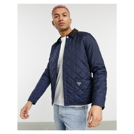 Barbour Beacon Starling quilted jacket in navy-Green
