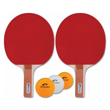 Spokey STANDARD SET-Sada na pingpong *, 2 pálky, 3 míčky, rovná rukojeť