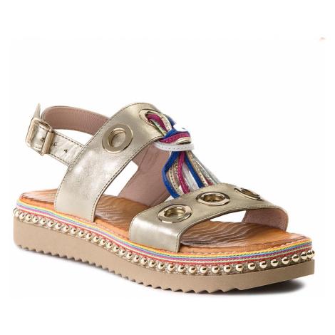 Sandály CARINII - B4382 H33-000-000-986