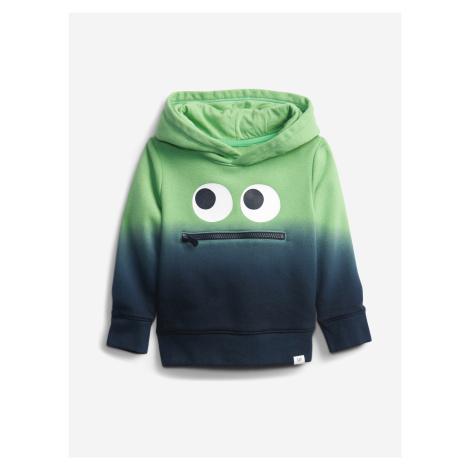3D Monster Dip-Dye Mikina dětská GAP Zelená
