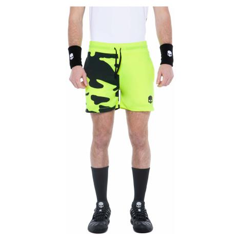 Pánské šortky Hydrogen Tech Camo Shorts Fluo Yellow