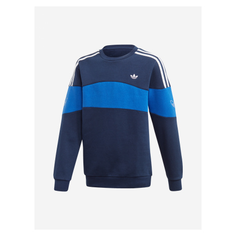 Bandrix Mikina dětská adidas Originals Modrá