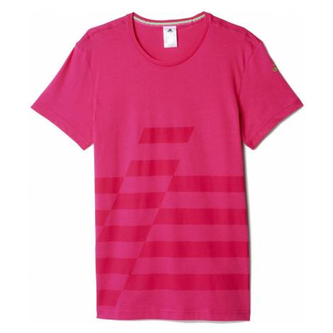 Tričko adidas UFB Tee Růžová