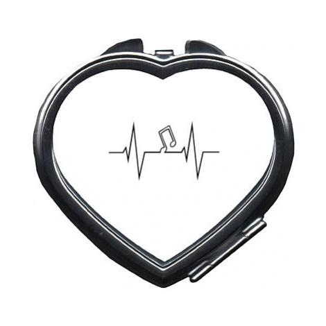 Zrcátko srdce Music beat