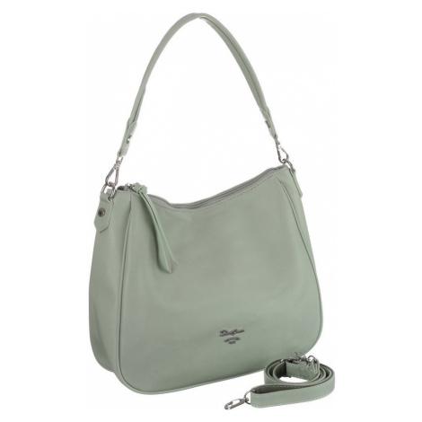 Trapézová shopper taška nákupní kabelka s dlouhým popruhem David Jones