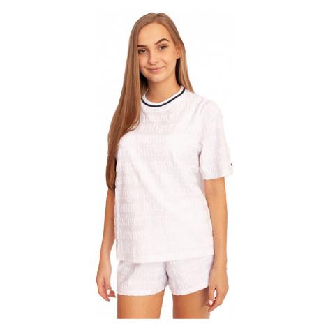 Dámské tričko Tommy Hilfiger bílé (UW0UW02263 YCD)