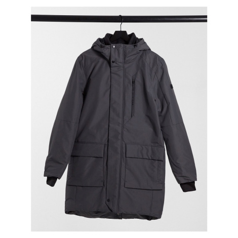 Tom Tailor technical parka in grey