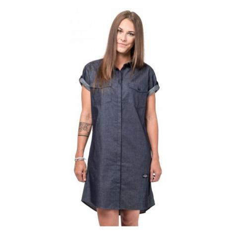 Horsefeathers KARLEE DRESS tmavě šedá - Dámské šaty