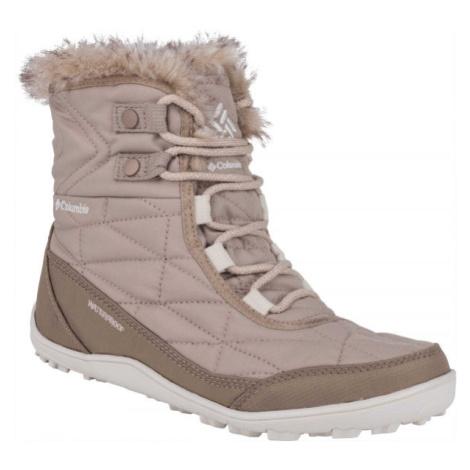 Columbia MINX SHORTY III béžová - Dámská zimní obuv