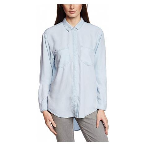 Calvin Klein Calvin Klein dámská světle modrá košile s dlouhým rukávem