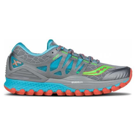 Dámská běžecká obuv Saucony Xodus ISO Stříbrná / Modrá