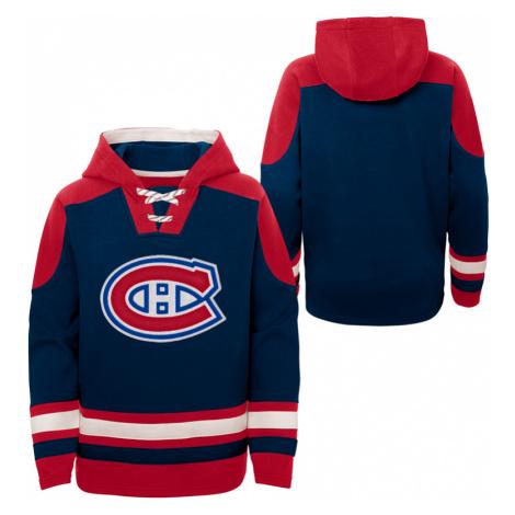 Dětská hokejová mikina s kapucí Outerstuff Ageless must have NHL Montreal Canadiens