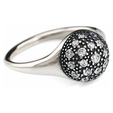 Linda's Jewelry Stříbrný prsten Galaxy IPR017 Velikost: 54