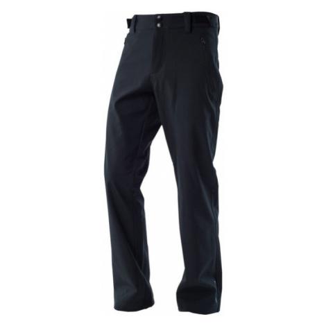 NORTHFINDER CHAD Pánské zateplené softshellové kalhoty NO-3280OR269 černá