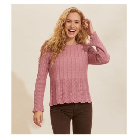 Svetr Odd Molly Maureen Sweater - Růžová