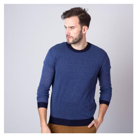 Pánský svetr v modré barvě 9942 Willsoor