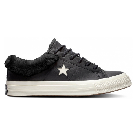 Converse Chuck Taylor All Star Leather Plimsolls černé 162601C