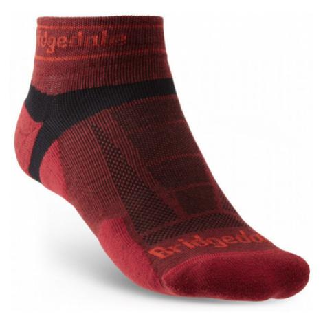 Pánské ponožky Bridgedale Trail Run UL T2 MS Low red