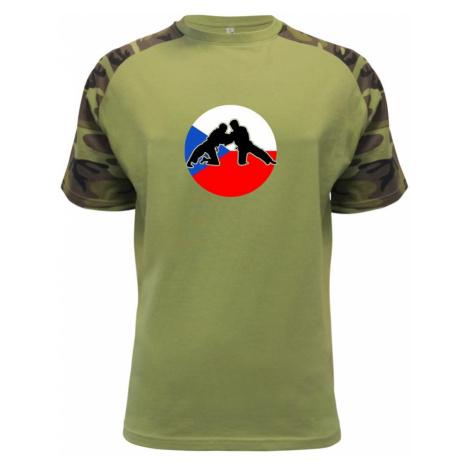 Judo CZ vlajka - Raglan Military