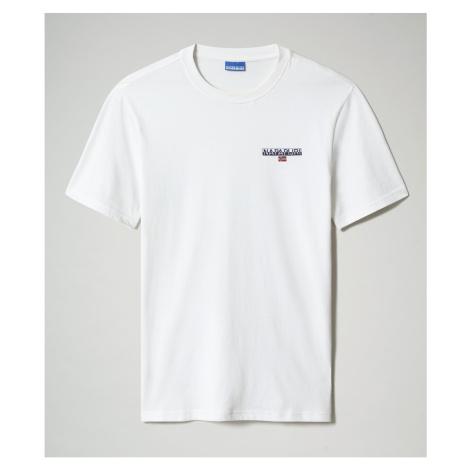 Napapijri Tričko S-Ice Ss 1 Bright White 002