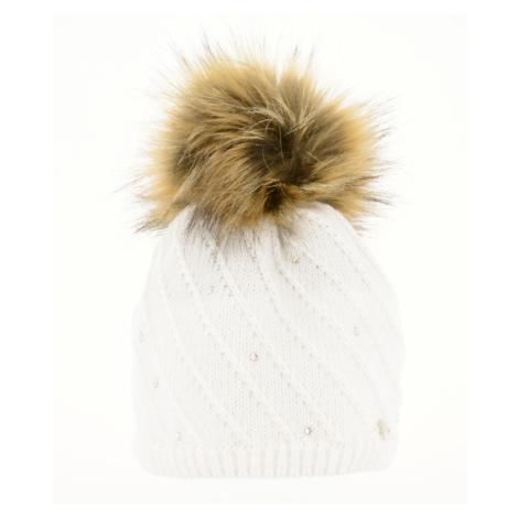 RELAX MINA Zimní čepice RKH171D bílá XL