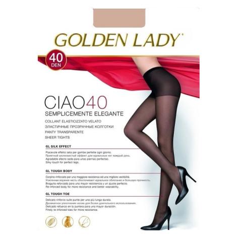 Dámské punčochové kalhoty Golden Lady Ciao 40 den odstín béžové