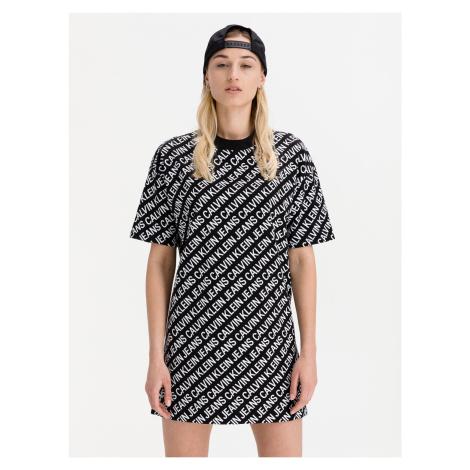 Šaty Calvin Klein Černá