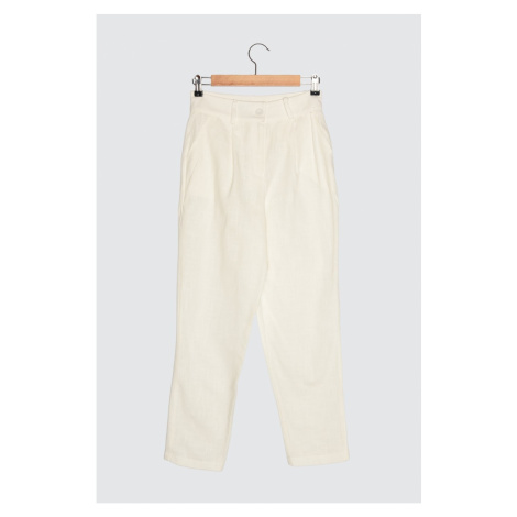 Trendyol Stone Straight Cut Trousers