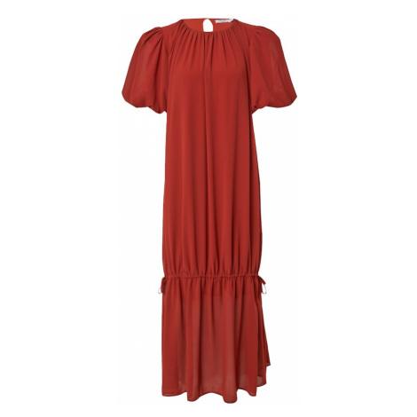 NA-KD Šaty rezavě červená