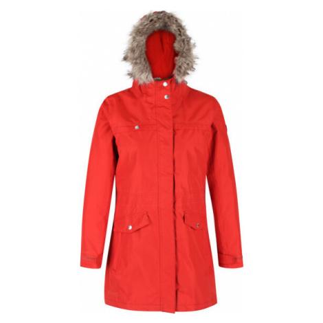 Dámský zimní kabát Regatta Serleena II Červený Červená