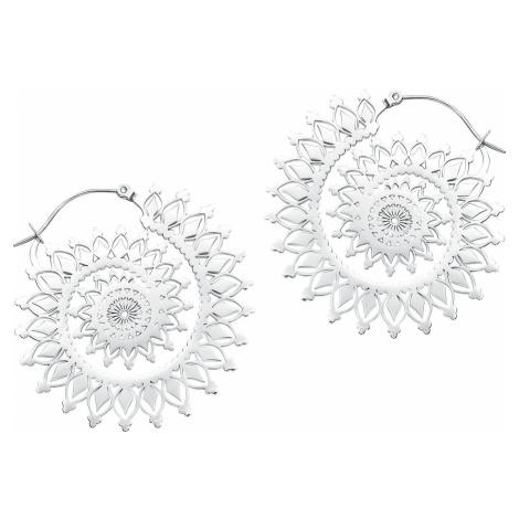 Wildcat Náušnice stříbrné barvy Floral Nautilus sada náušnic stríbrná