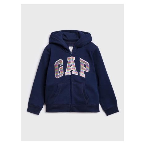 GAP modrá dívčí mikina